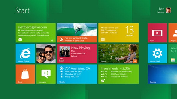 windows 8 preview español
