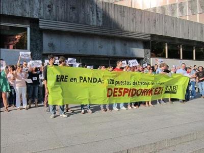 Los trabajadores de Panda Security siguen expresando su rechazo al ERE