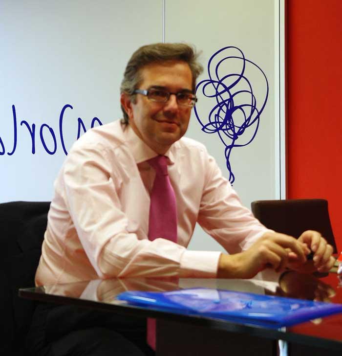 Entrevista José Luis Cuerda, de Vodafone.