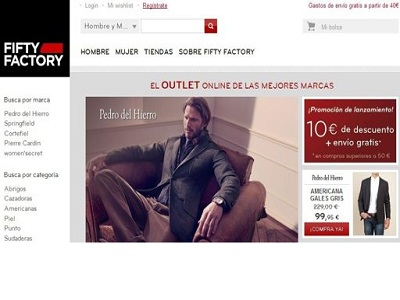 Cortefiel refuerza su presencia en la red con Fifty Factory