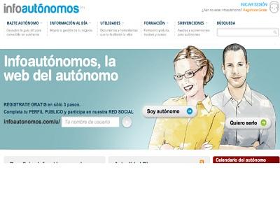 Infoautónomos es la red social de referencia para autónomos y emprendedores