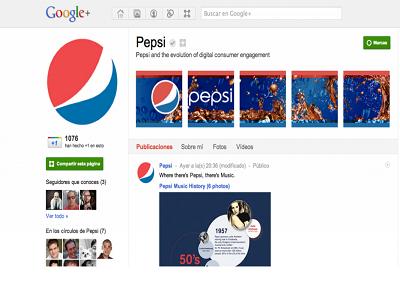 Las marcas más importantes ya tienen página de empresa en Google+