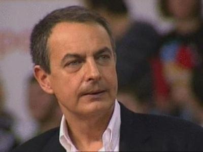 """Zapatero asume ser """"el principal causante del paro"""""""
