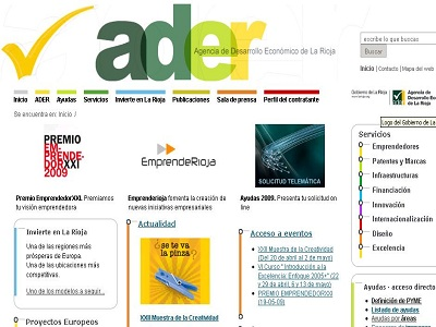 ADER pone en marcha su nueva herramienta de autogestión empresarial