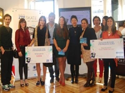 ZTE premia a los emprendedores de la moda española