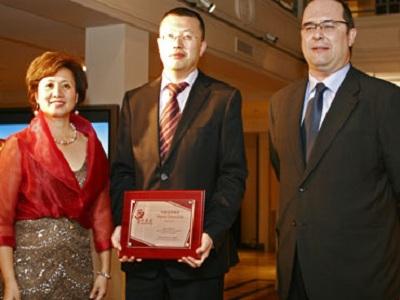 Huaewi es premiada como la empresa china que mas trabajo crea en España