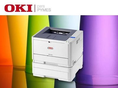 OKI incentiva el uso de servicios de impresión entre las pymes