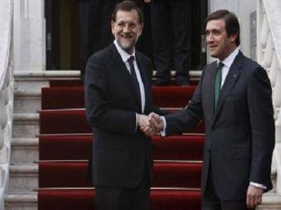 Rajoy afirma que en España se harán ajustes similares a los de Portugal