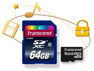 Transcend lanza tarjetas SD con protección anticopia