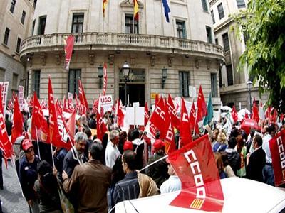 Sindicatos europeos se movilizan hoy en toda Europa