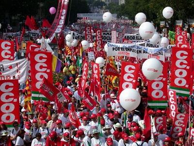CCOO y UGT se manifestarán el 29 de febrero en defensa del empleo