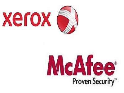 Xerox y McAfee se unen para reforzar la seguridad en las empresas