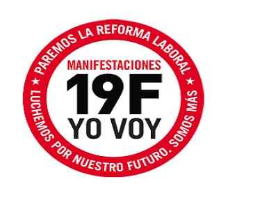 57 ciudades se unen a los sindicatos para protestar contra la reforma laboral