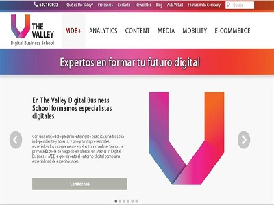 The Valley Digital Business School, la escuela de negocio para profesionales