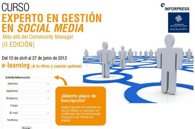 master socialmedia Conviértete en un experto en social media