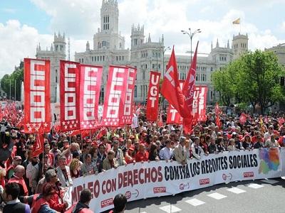 Sindicatos convocan manifestaciones contra la reforma laboral el 29 de abril