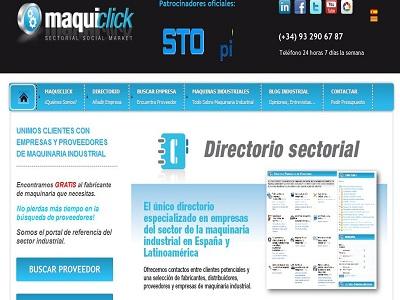 Nace Maquiclick.com, la nueva red social para la industria