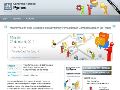 El Congreso Nacional de Pymes Marketing se celebrará el próximo 26 de abril