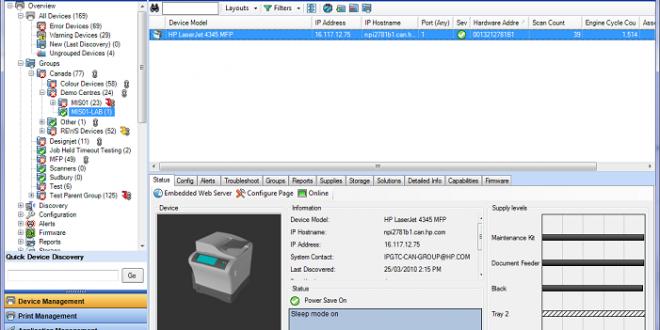 HP Web Jetadmin: administra las impresoras de tu empresa