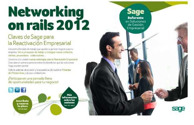 """Comienza """"Networking on Rails 2012"""", las jornadas de Sage para reactivar las empresas"""