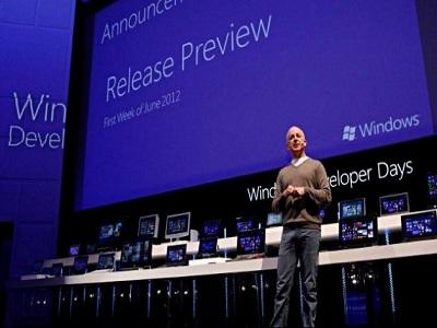 Microsoft lanzará en junio Windows 8 Release Preview