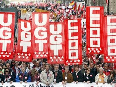 """Los sindicatos mantendrán la """"movilización sostenida"""" cuando se apruebe la reforma laboral"""
