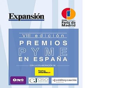 El 20 de junio tendrá lugar la VIII Edición de los Premios PYME