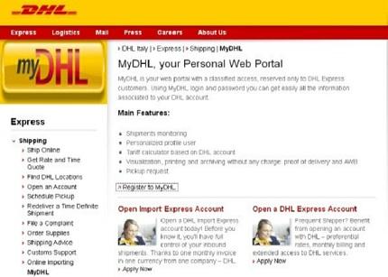 DHL se acerca más a las pymes con su nuevo portal MyDHL