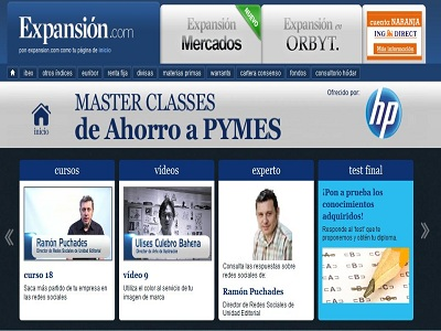"HP presenta ""Master Classes para Pymes"""