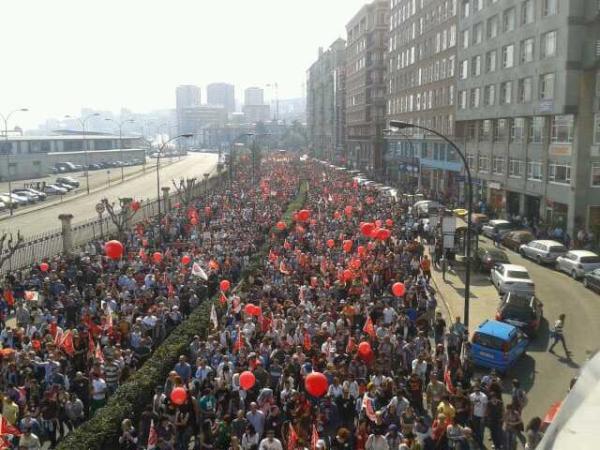 Sindicatos convocan una gran manifestación para el 19 de julio