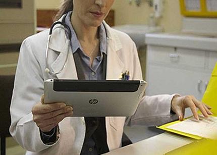 Nueva imagen de la tablet profesional de HP