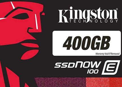 Kingston presenta las SSDNow E100 para el sector empresarial