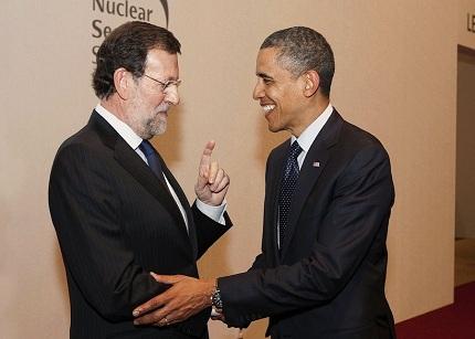 Obama le expresa a Rajoy su respaldo a las medidas de ajuste