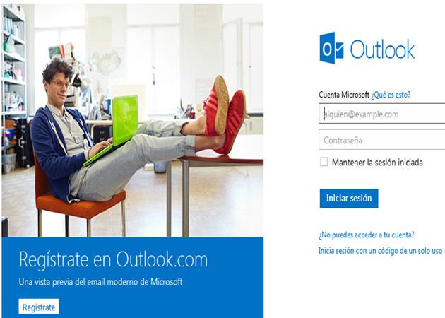 Outlook.com: 1 millón de usuarios en menos de 24 horas