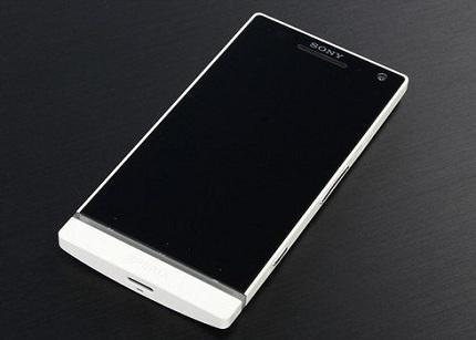 Sony Xperia SL, el competidor más directo de los nuevos smartphones de gama alta