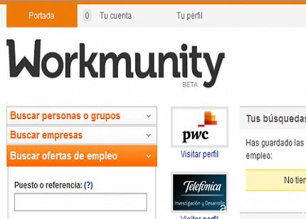 Workmunity.com, elegido como el proyecto con mayor potencial