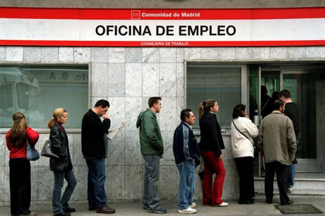 BBVA prevé que el paro siga subiendo en 2013 en España