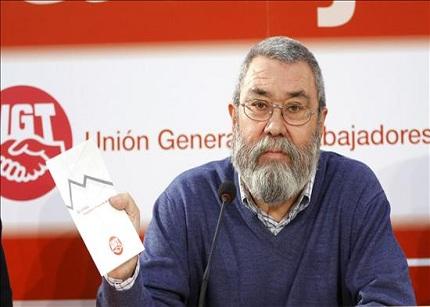 """UGT acusa al Gobierno de estar """"calentando el otoño"""""""