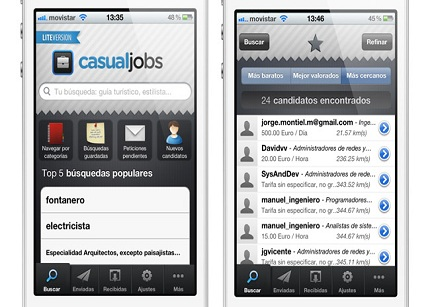 CasualJobs ya está disponible en Android