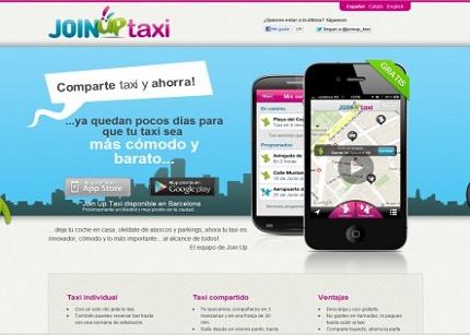 JoinUp Taxi, nueva iniciativa para compartir taxi en tus desplazaientos de negocios