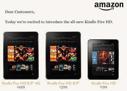 Amazon presenta su nueva generación de tablets
