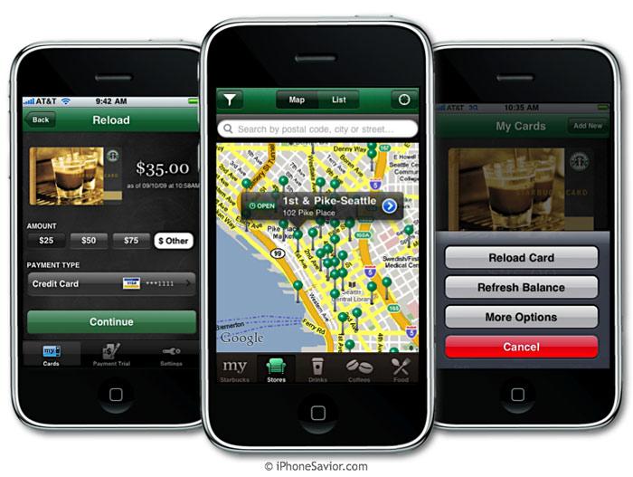 starbucks app ¿Desaparecerá el dinero en efectivo en 2016?