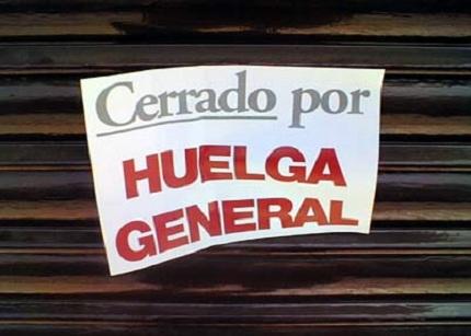 La próxima huelga general podría ser el 14 de noviembre