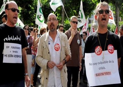 Los empleados públicos dejarán de cobrar sus sueldos ínrtegros por baja temporal