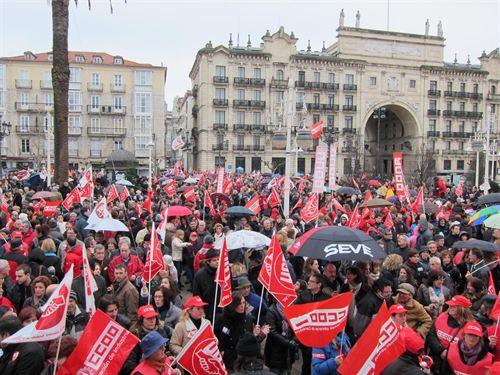 Los sindicatos aprobarán esta mañana la huelga general del 14 de noviembre