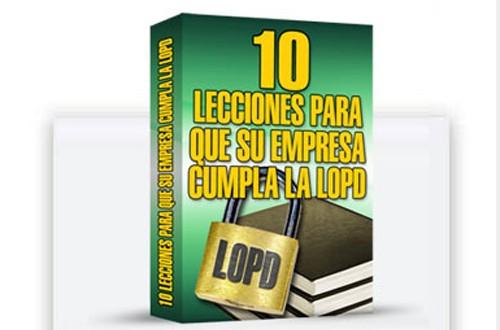 LECCIONES-LOPD