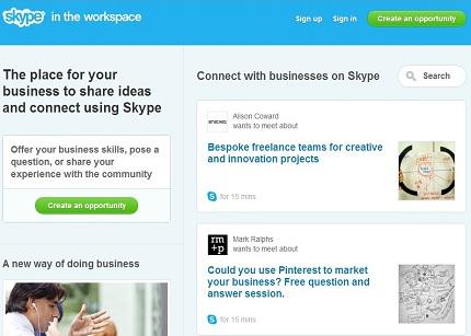 Microsoft anuncia el lanzamiento de Skype in the workspace