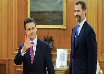 Felipe de Borbón anima a las empresas mexicanas a que aterricen en España