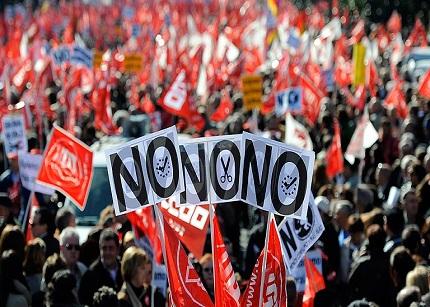 Los sindicatos vuelven a salir a la calle en contra de los recortes