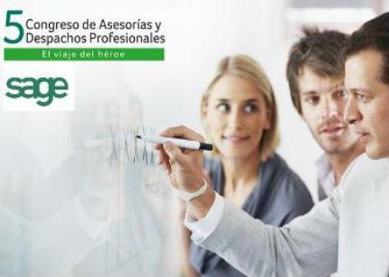 Sage celebrará Sage celebra en Madrid su 5º Congreso de Asesorías y Despachos Profesionales